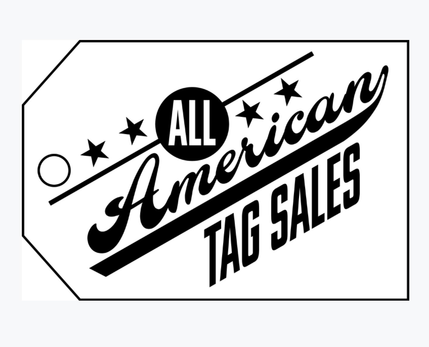 All American Tag Sales | Auction Ninja