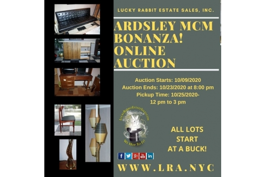 Lucky Rabbit Estate Sales, Inc    Auction Ninja