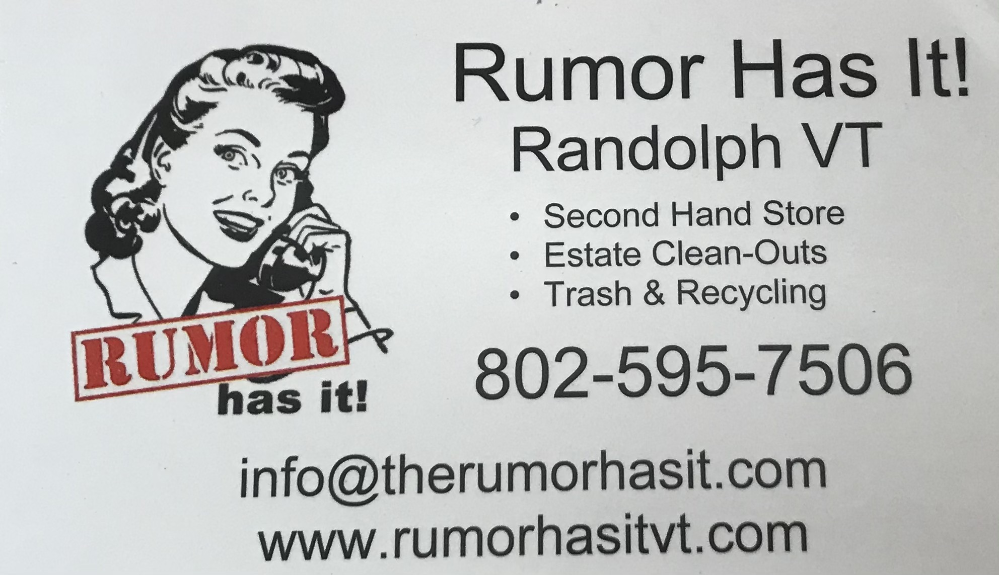 Rumor Has It   Auction Ninja